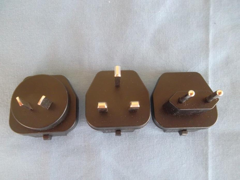 3 Kodak EasyShare Rapid Charger Adapters