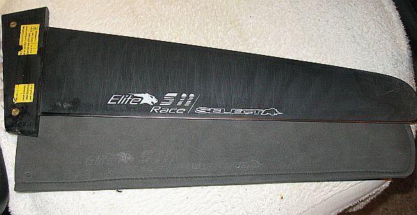 Windsurfing fin Select Select Elite S11 41cm Race