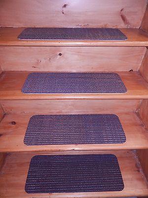 14  Step Indoor Stair Treads Staircase Step Rug Carpet  9
