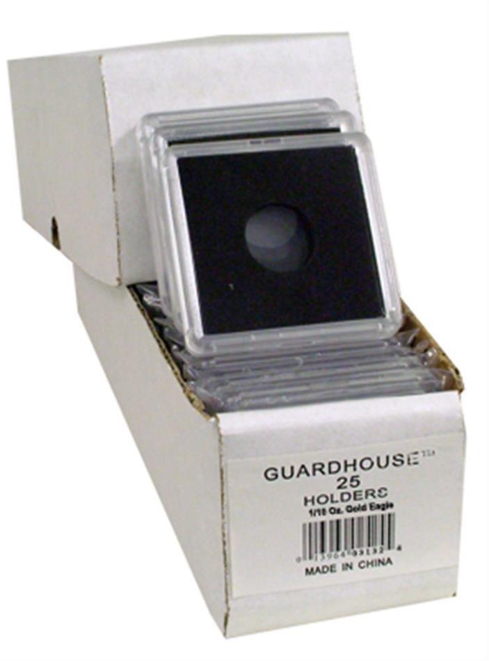 5 - GUARDHOUSE 2x2 TETRA SNAPLOCK for 1/10-Oz Tenth-Ounce AGE / GOLD EAGLE COIN