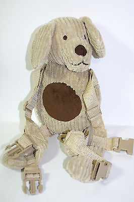 Eddie Bauer HARNESS BUDDY Plush Puppy Dog Backpack Replacement *Missing Leash*