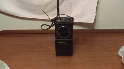 Surveyor Two-Way Radio Solid State Japan Vtg single Walkie Talkie (1) untested