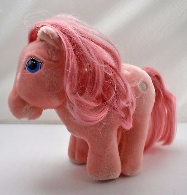 Vintage My Little Pony Cotton Candy Pink Plush 10