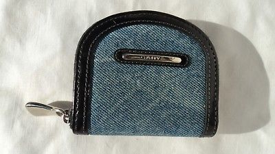 Gary's MB1348 Denim & Leather Coin Purse
