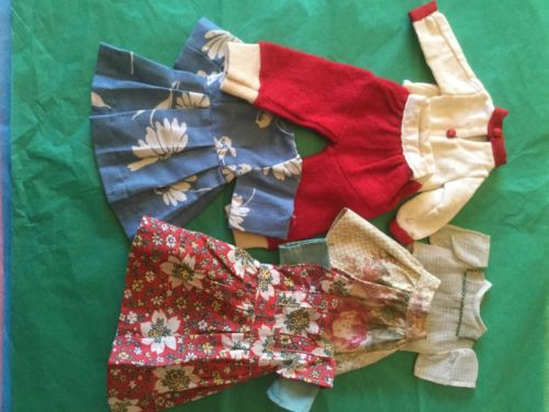 Vintage Doll Clothes Lot For 14-16 inch Girl Teen Body doll