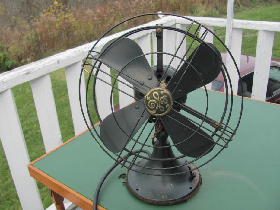 Vintage Electric GE 3 Speed Fan Table or Wall Mount