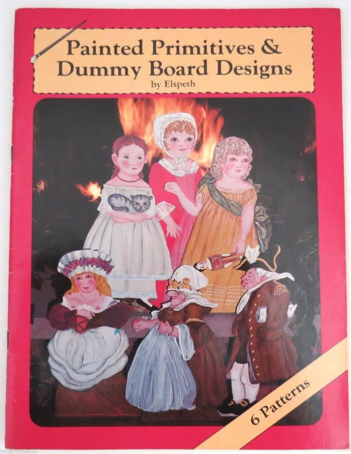 Painted Primitives & Dummy Board Designs by Elspeth Colonial Styles Bawdy Bess!