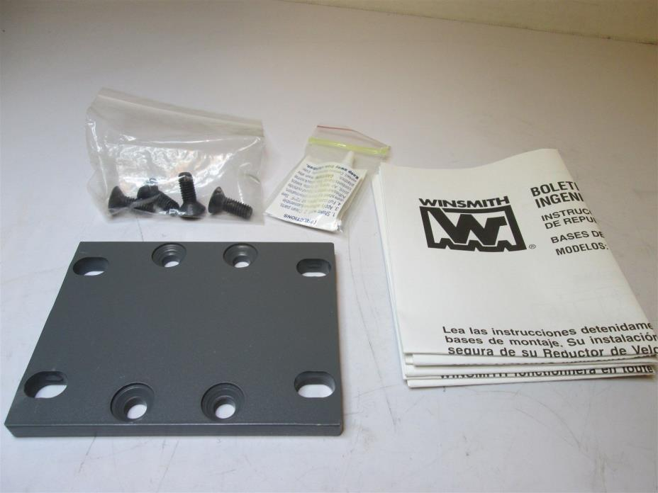WINSMITH 913WT Speed Reducer Steel Bottom Mounting Base 5