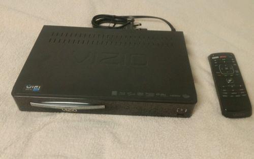 VIZIO VBR121 Smart Blu-Ray Player w/ Streaming Apps & Remote Control, works good
