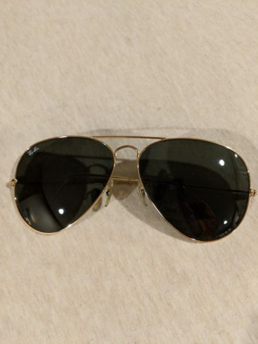 Ray-Ban Aviators polarized large sunglasses