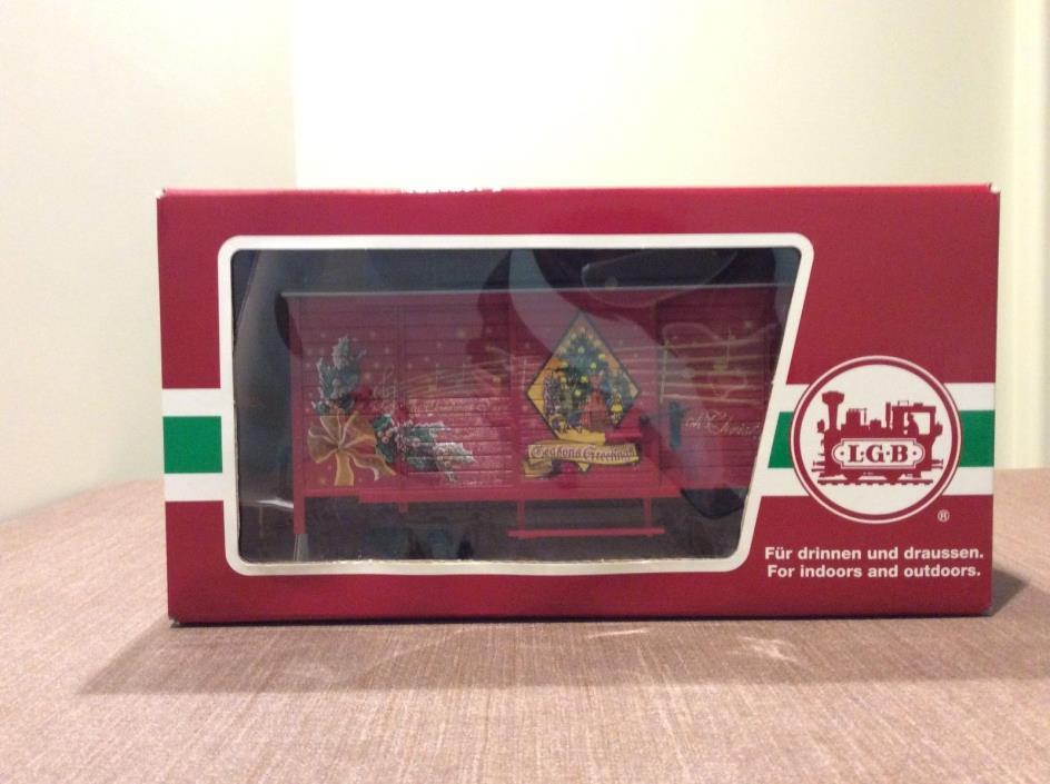 LGB Christmas Melody Car -43353 (Excellent Condition/Original Box)