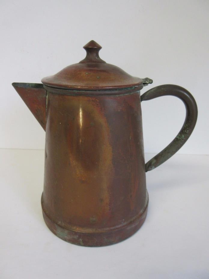 Vintage Tagus Portugal Copper Teapot Tea Kettle