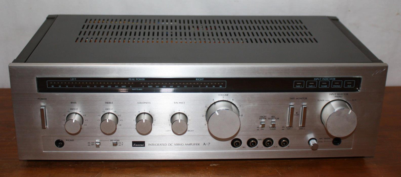 BROKEN - Sansui DC Servo Amplifier A-&, Stereo 2.0, Japan, Phono, Vintage