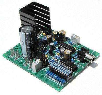 XAMP-M1 100W Amplifier, w/ Optional Low Pass Filter - Electronic Kit