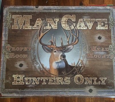 Man Cave Hunters Only 16