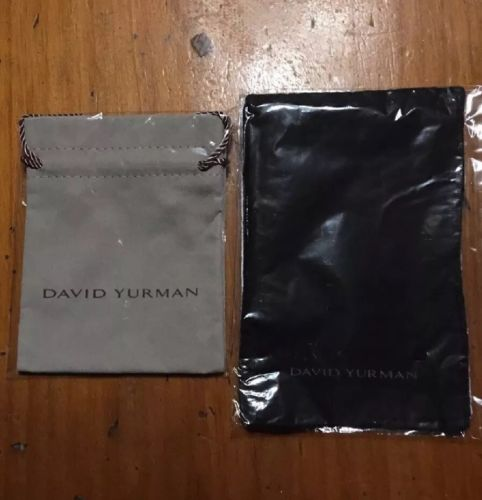David Yurman Large Jewelry Holder & Cleaning Cloth New In Package