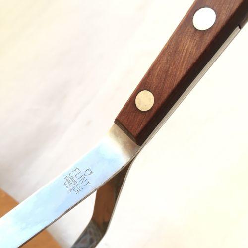 Vintage Ekco Vanadium Stainless Potato Masher Wood Handle Steel USA