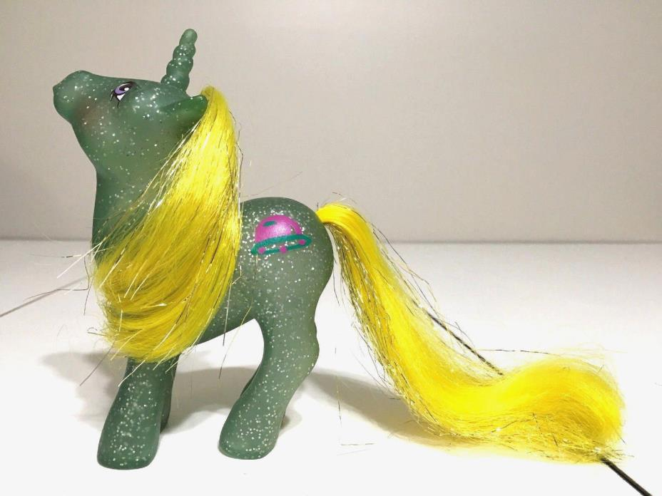 My Little Pony Vintage G1 STAR HOPPER Sparkle Pony Glitter MLP Hasbro MINT