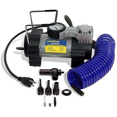 Goodyear I8000 Tire Inflator Air Pump 120V Wall Outlet Electric Compressor Car