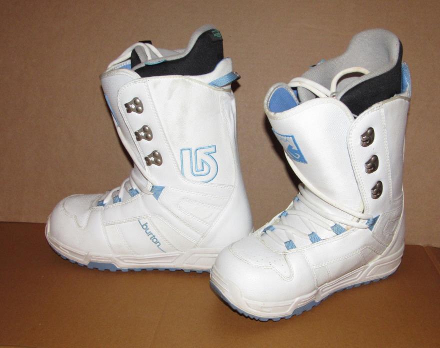Burton CASA Womens Snowboard Boots, Sz 8,  Snow Sport, Winter Sportswear
