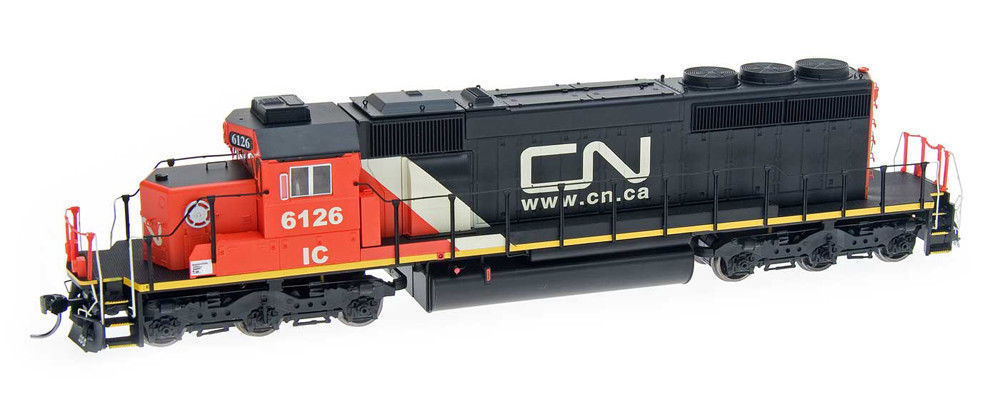 HO Intermountain CANADIAN NATIONAL #6126 -SD40-2 CN & DCC SOUND  49335S-04*