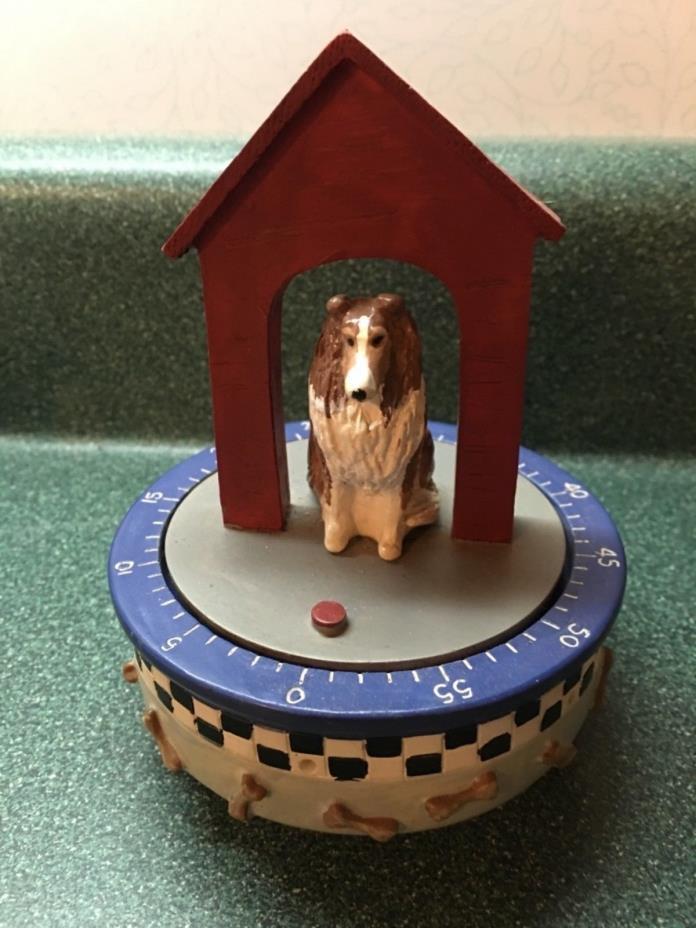 Dog Collie Kitchen Timer