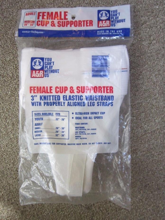 A&R Female Hockey Cup & Supporter Adult Medium 28