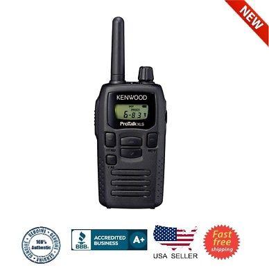 Kenwood ProTalk Portable UHF Business Two-Way Radio - Black