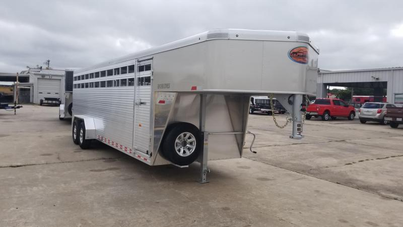 2018 Sundowner Trailers 24' Rancher Express Gooseneck  Livestock / Cattle SD-38
