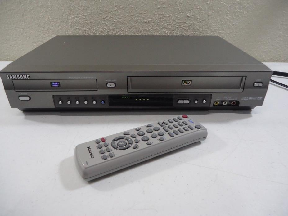 Samsung DVD-V3650 DVD VHS 4 Head VCR Player Combo / Remote Control