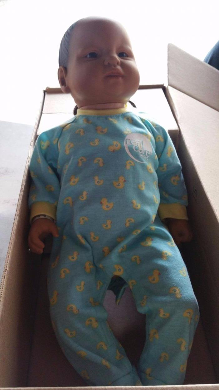 REALITY WORKS REAL CARE  BABY 3 MALE EDUCATIONAL BABY in box