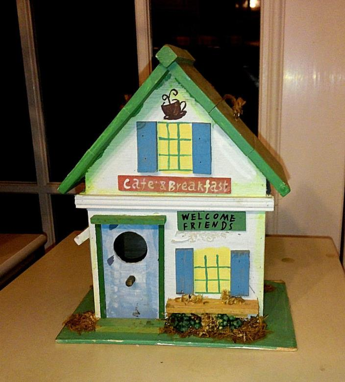 Cafe & Breakfast Themed Bird House