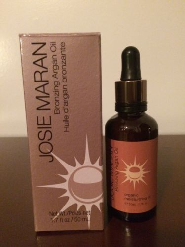 NEW Full Size Josie Maran Bronzing Argan Oil 1.7oz Sealed and Boxed