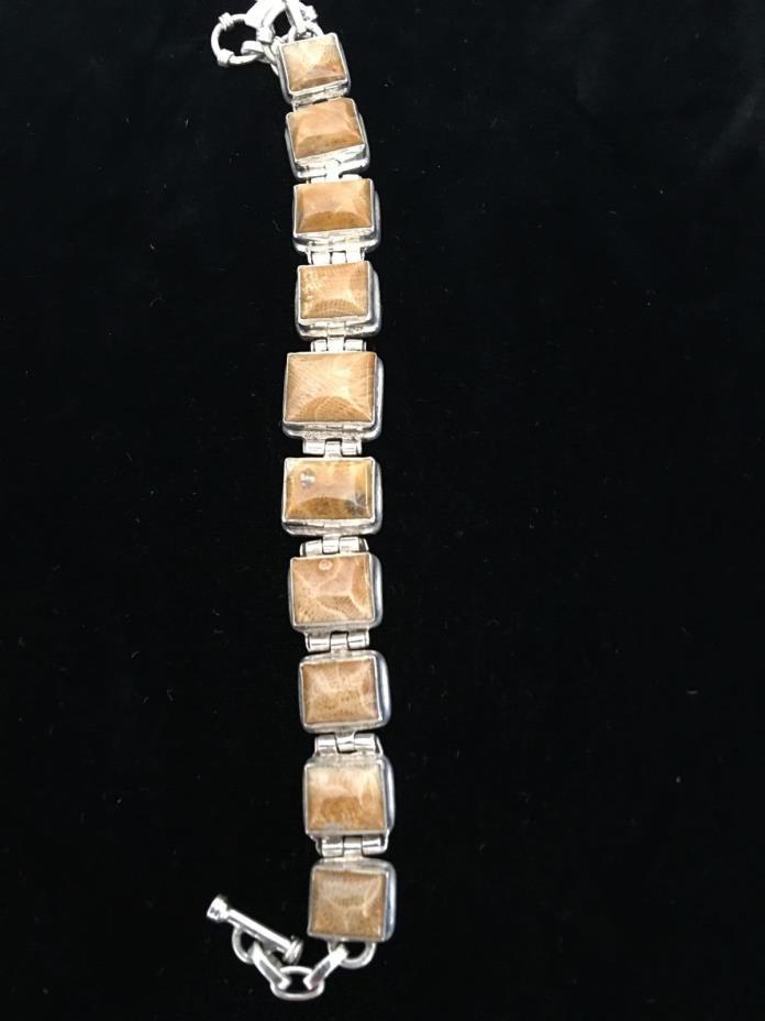 Bracelet, 925 SS Length 7 1/2