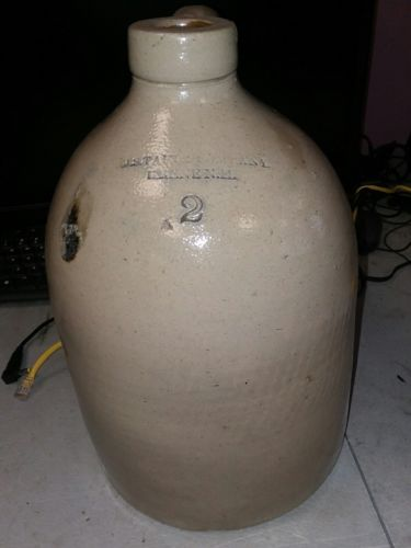 JS TAFT & COMPANY Antique jug. RARE!! NH