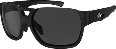 Ryders Eyewear Rotor Black with VeloPolar AntiFog Grey Lens Sunglasses