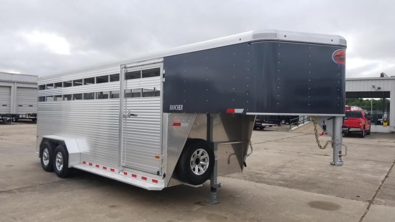 2018 Sundowner Trailers 20' Rancher Gooseneck  Livestock / Cattle SD-37