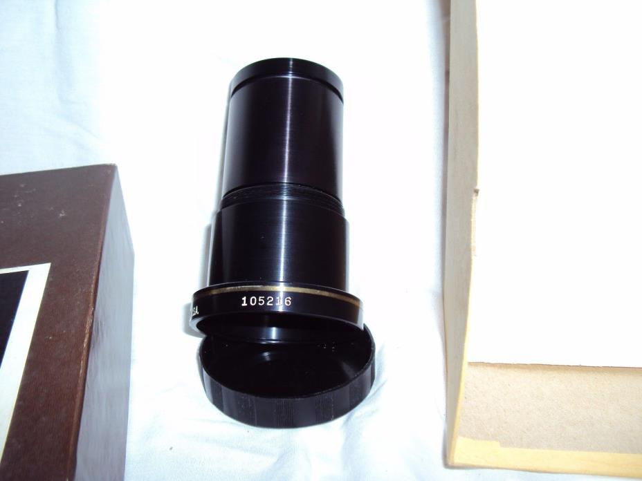 D-O-Industries-Golden-Navitar-4-inch-101mm f/2.8 slide projector projection lens