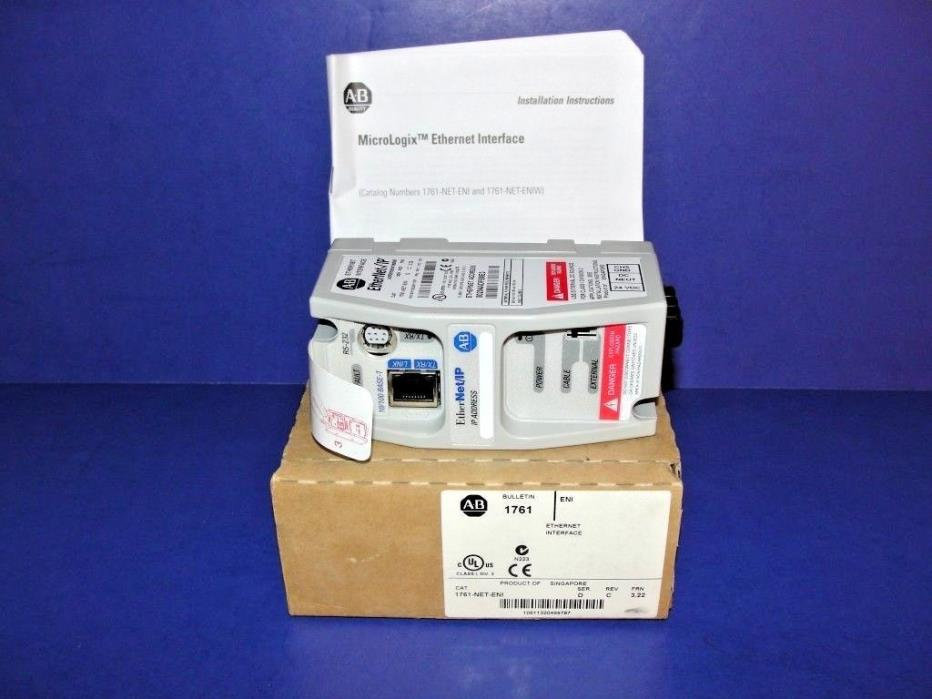 NEW ORIGINAL BOX Allen Bradley 1761-NET-ENI Series D  EtherNet Interface