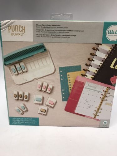 American Crafts We R Memory Keepers planner Punch Board Kit - 660084