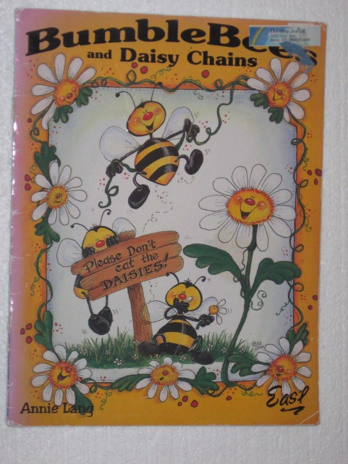 Tole Painting Bumble Bees & Daisy Chains Annie Lang