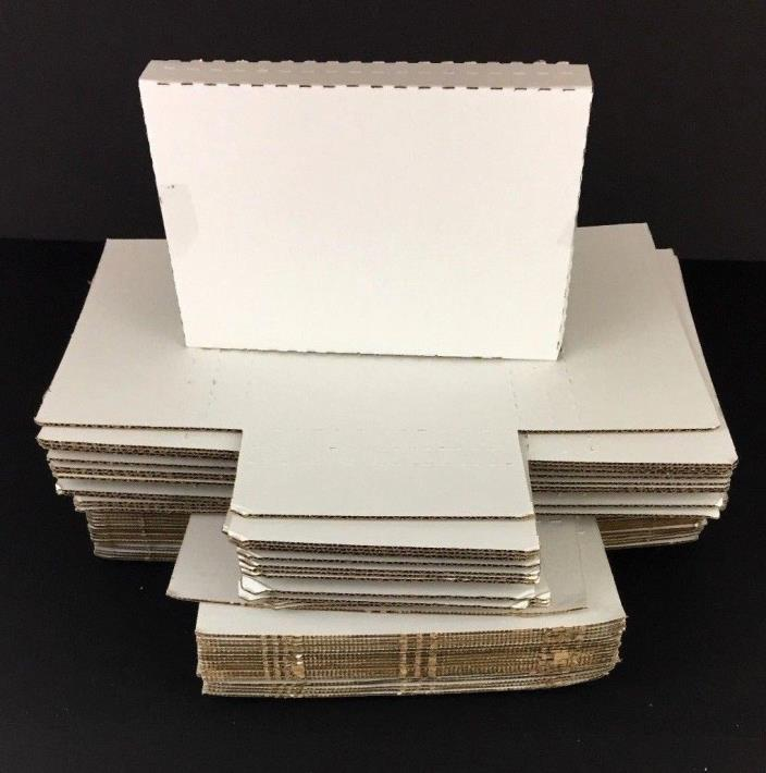 40 Corrugated Easy-Fold Mailer Boxes 9-5/8