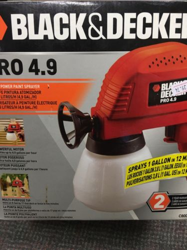 Black & Decker Spray Painter