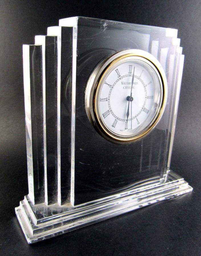Waterford Crystal Glass Metropolitan Large Clock (LE)