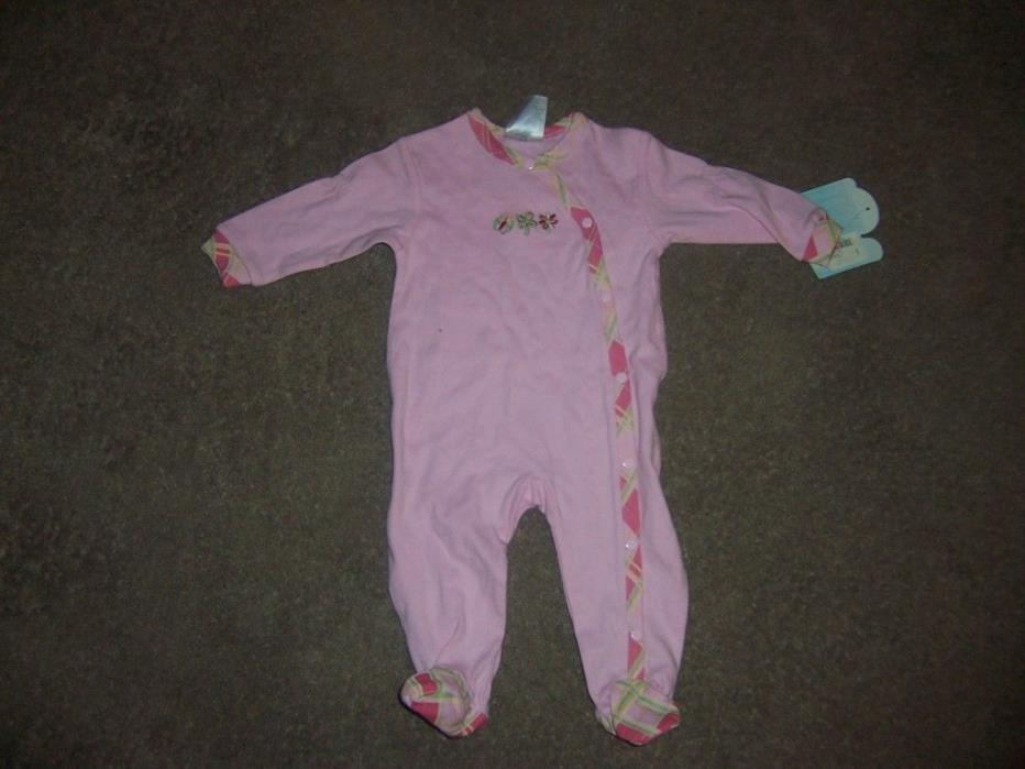 Babys own pink flower butterfly sleeper new
