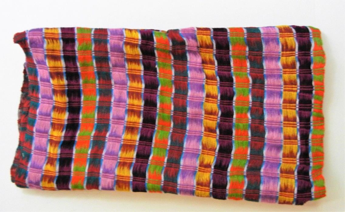 handwoven Guatamalan scarf