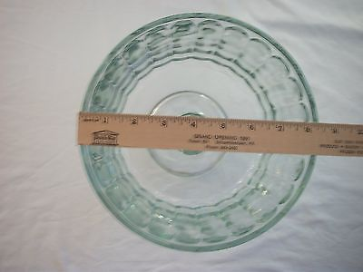 CLEAR GLASS  Cake Platter 10