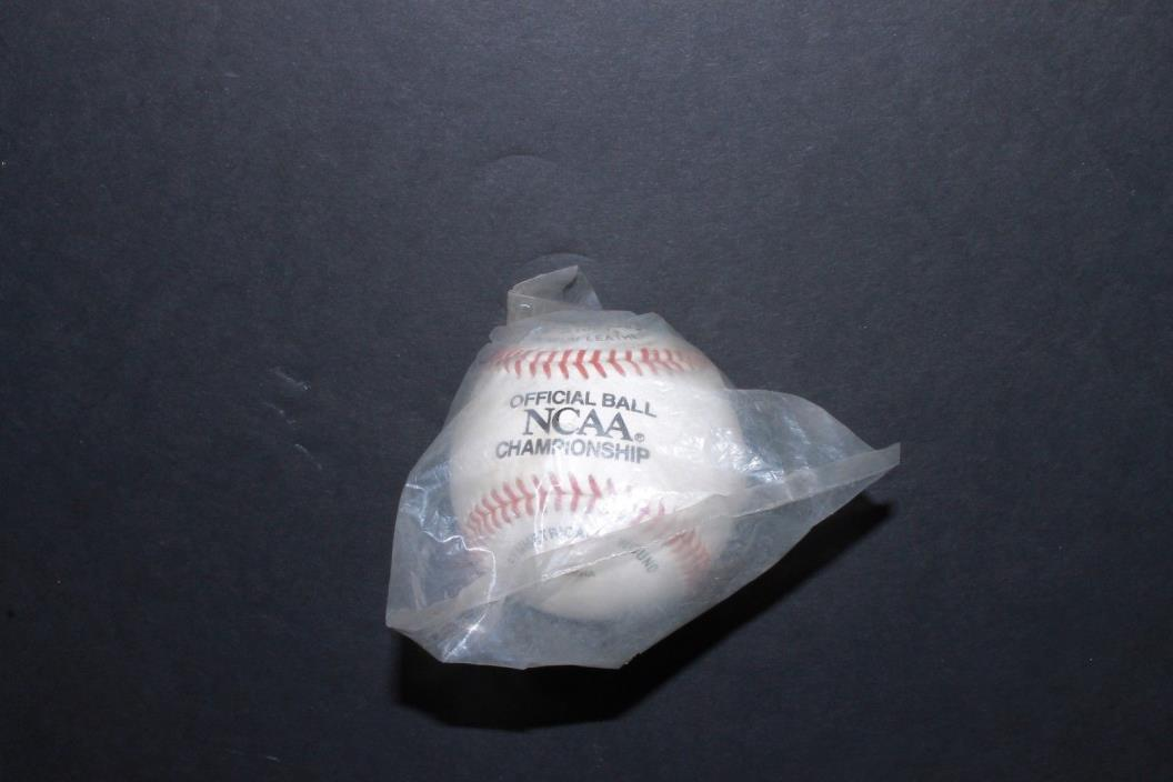 Old NCAA Championship Baseball Official Ball A1001 Wilson College World Series