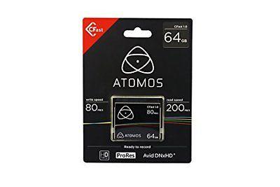 Atomos 64GB C-Fast Card