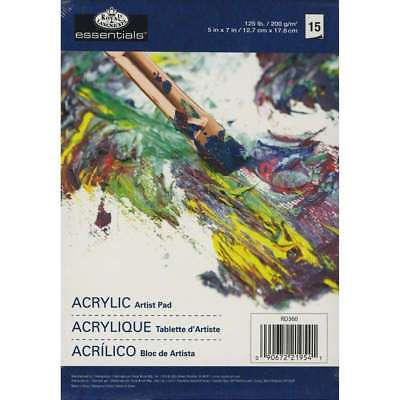 Essentials Acrylic Artist Paper Pad 5